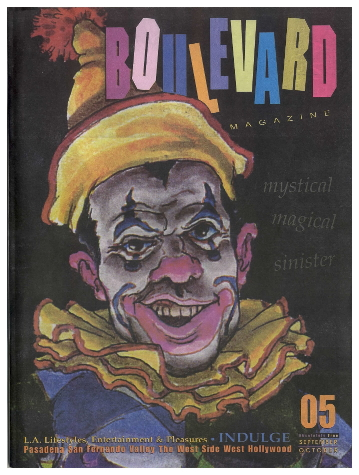 September-October 2005 Boulevard Magazine Cover Harlequin Dwarf by Michael Kirwan